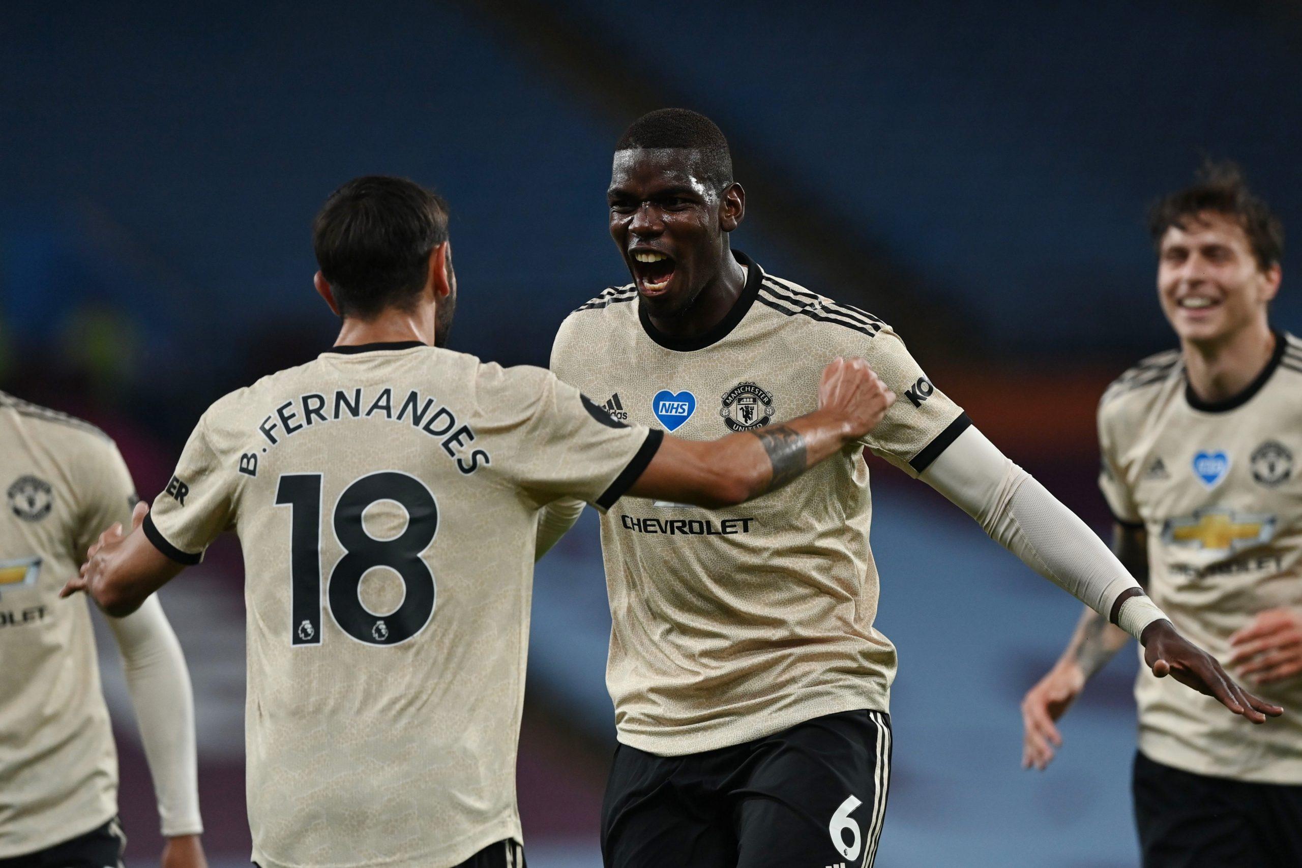 Manchester United fór létt með Aston Villa